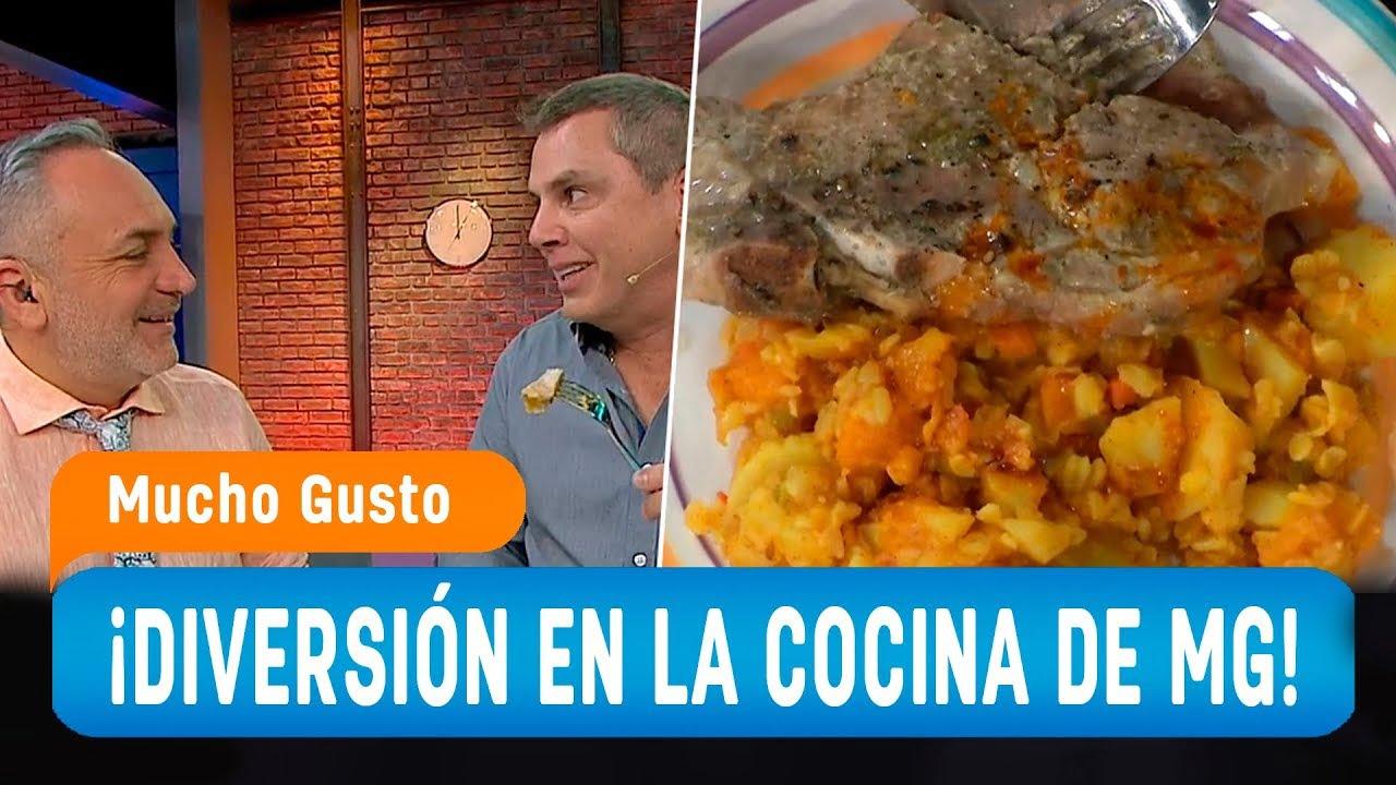 Una clásica receta chilena por el chef Agustín - Mucho Gusto 2019
