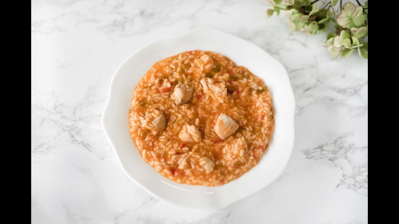 Video receta Companion: Arroz con pollo y verduras