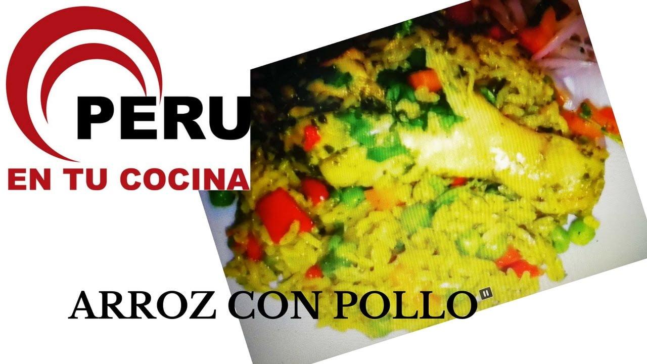 arroz con pollo  peruano como hacer arroz con pollo peruano ,comida peruana peru en tu cocina 2019
