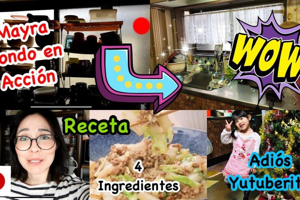 remodele cocina con cosas de Daiso+receta facil 4 ingredientes+trabaja mucho+videovlogjapon