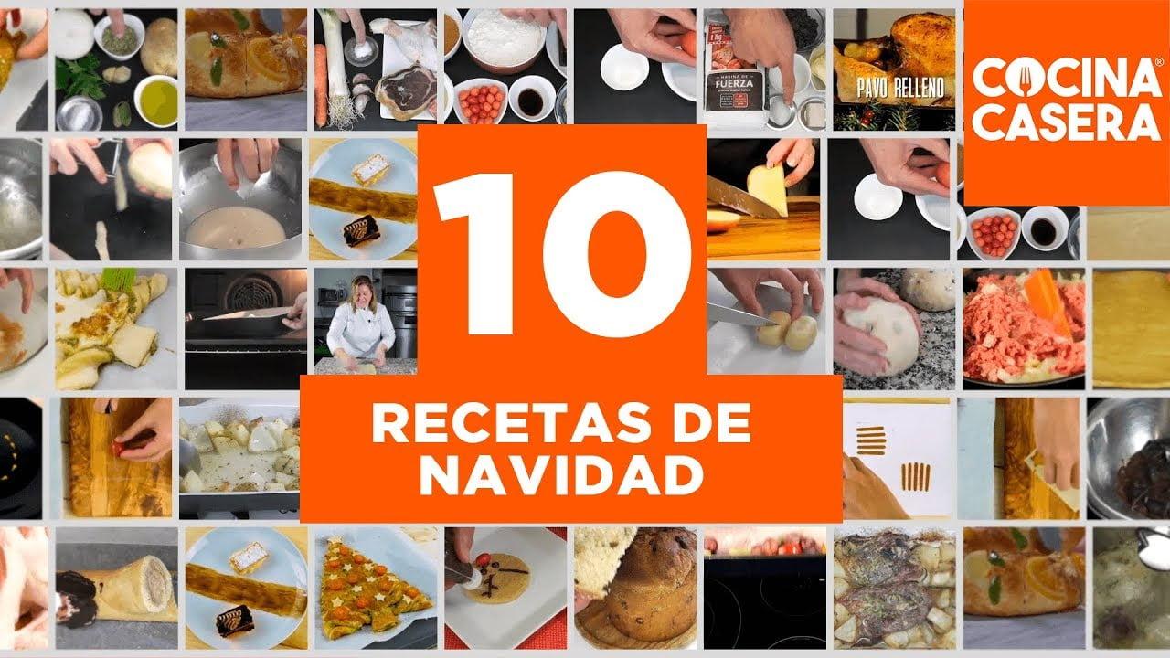 10 Recetas de Navidad Fáciles - Cocina Casera
