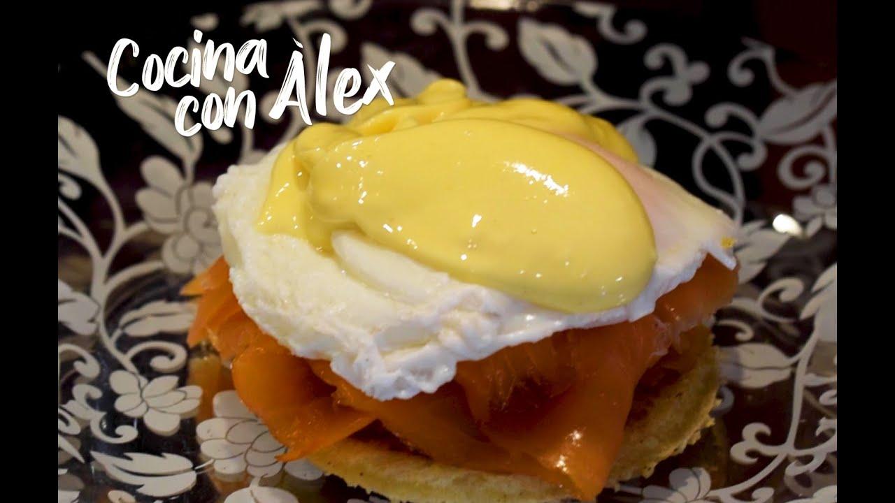 'Cocina con Àlex' estos deliciosos huevos benedictine