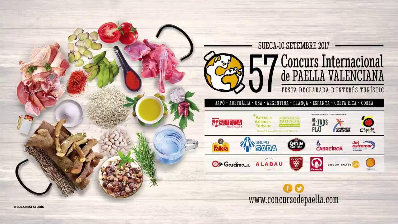 57 Concurs Internacional de Paella Valenciana de Sueca 2017