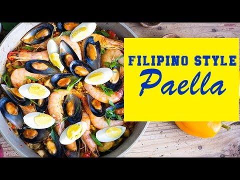 6 CONSEJOS PARA HACER EL PAELLA DE ESTILO FILIPINO