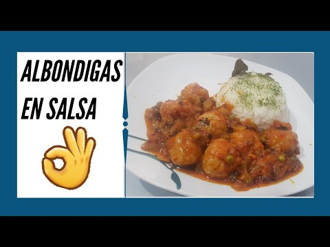 ALBONDIGAS EN SALSA!!! española. Receta de ABUELA - recetas de cocina faciles y rapidas