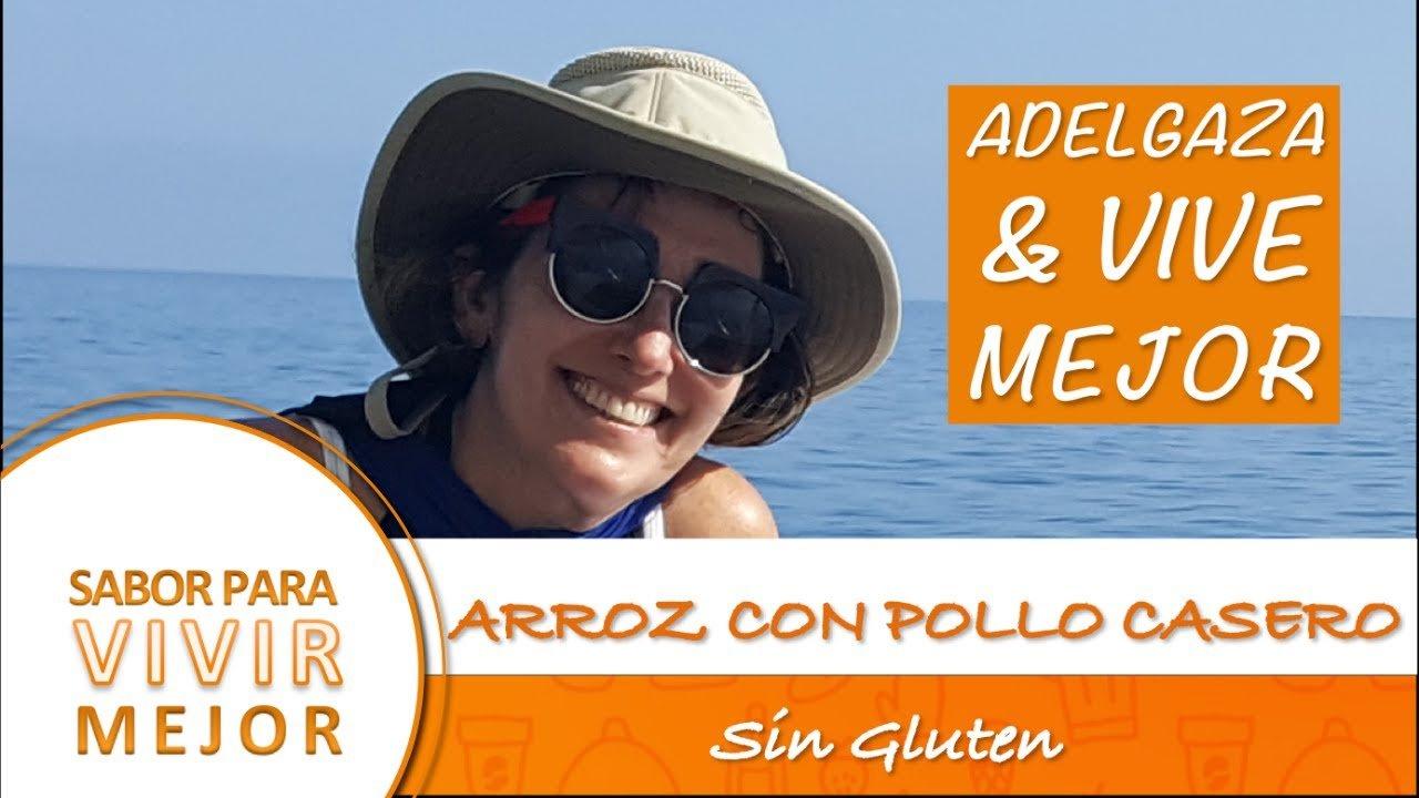 ARROZ CON POLLO CASERO   SIN GLUTEN   RECETA DE LA ABUELA