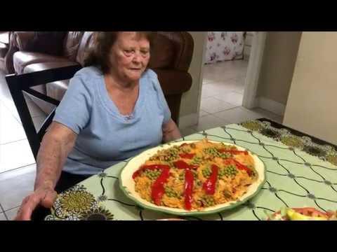 Arroz Con Pollo A La Chorrera | Auténtica Receta Cubana | Abuelita Mimi