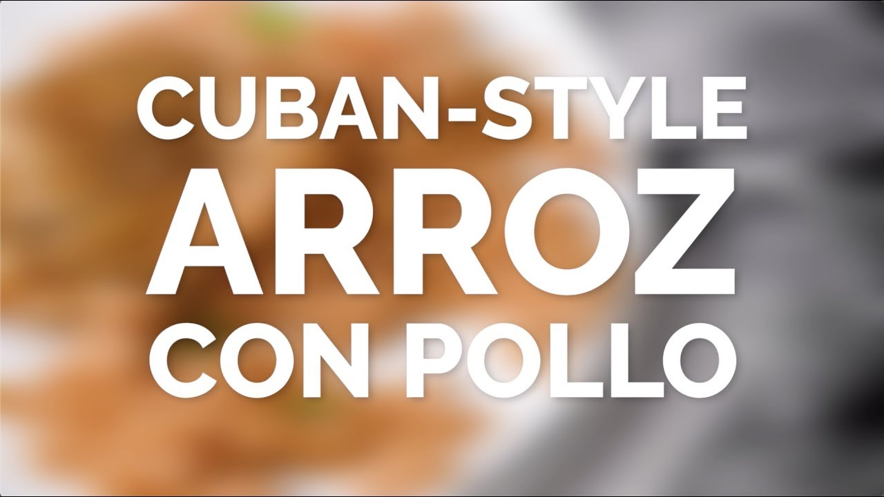 Arroz Con Pollo Cubano | Una cuchara descarada