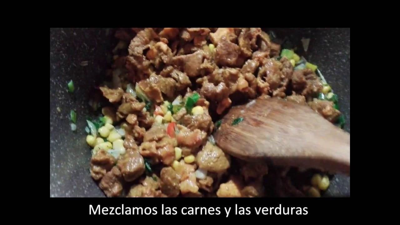 Arroz con Carne y Pollo, Delicioso