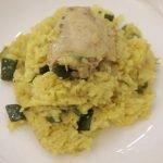 Arroz con pollo y especias, y Crema de quesos - La Cocina de Eugenia