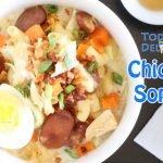 Cómo cocinar sopas de pollo filipino: la delicia de hoy