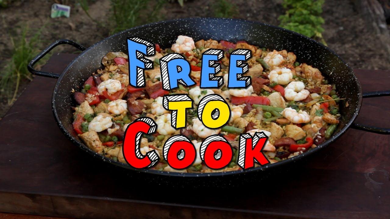 Cómo cocinar una paella rápida y fácil