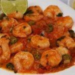 Cómo hacer camarones a la mexicana y  Receta de Arroz con Nopales||Comida mexicana