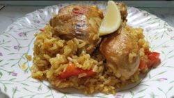Cómo hacer paella | Paella de pollo al curry | Sabroso tratamiento