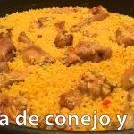 Cómo hacer paella de pollo y conejo / Paella Recipe With Chicken & Rabbit