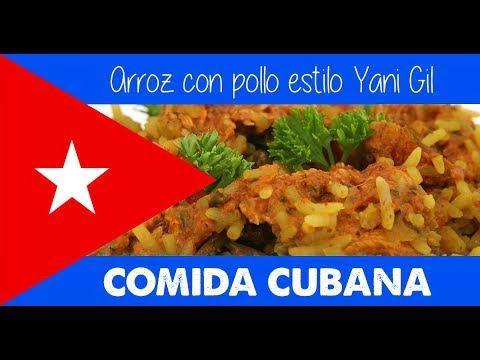COMIDA CUBANA - Arroz con pollo estilo Yani Gil