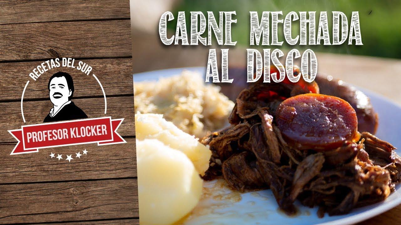 Carne Mechada al Disco - Recetas del Sur