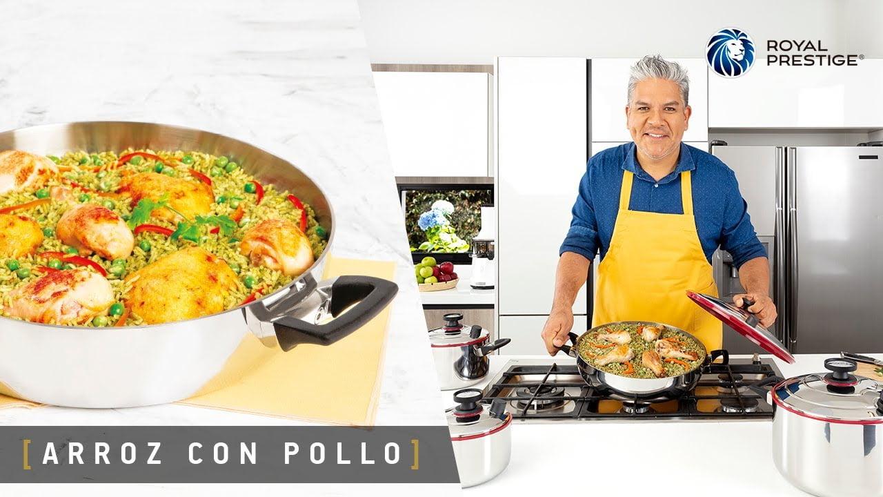 Cocina con Royal Prestige | Receta de Arroz con Pollo con José del Castillo