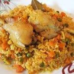 Como Hacer Arroz con Pollo en Olla A Presión/Receta fácil - La cocina deTery