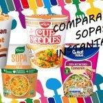 Comparando Sopas Instantaneas (Maruchan, Knorr, Nissin)