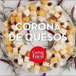 Corona de quesos ¡Receta para un snack fácil! | Cocina Fácil
