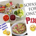 EASY RECIPE ON HOW TO COOK SOPAS IN A RICE COOKER FOR ONLY 130 PESOS!
