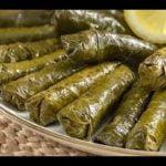 Hoja de parra-recetas de comidas rapidas y faciles de hacer en casa (Zeytinyağlı Yaprak Sarma)