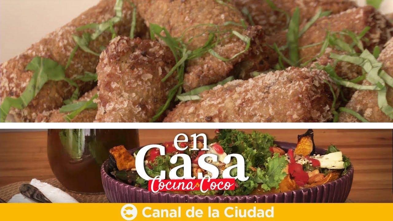 Las Recetas de Coco: Croquetas de Berenjena - En Casa Cocina Coco