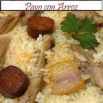 Pavo con Arroz para fechas especiales   Receta de Cocina en Familia