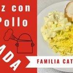 RECETA de Arroz con Pollo HONDUREÑO | Familia Catracha