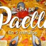 🥘 Receta de Paella en 5 minutos 🥘 Paella receta 🥘