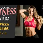 Receta de Pizza light de pimientos y mozarella | La cocina fitness de Vikika
