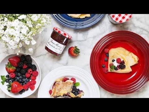 Receta de cocina fácil rápido y económica / Tutorial De Cómo Hacer Crepas