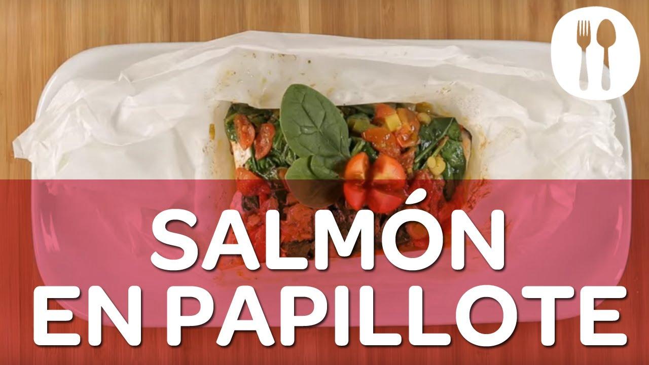Recetas de cocina Carrefour - Lomo de salmón en papillote