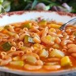 Sopa de Coditos Nutritiva y con Mucho Sabor