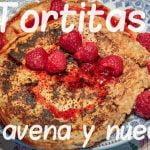 #reposteria #recetas #cocina Tortitas de avena y nueces   El Espejo de Paula