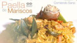 ¿Cómo se hace una Paella? Paella de Mariscos | Comiendo Sano