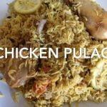 Arroz basmati con pollo y especias  Chicken Pulao (arroz con pollo) pollo pulao