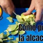 Cómo preparar y cortar  la alcachofa para la paella LOCOS POR LA PAELLA