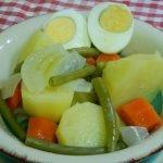 Cómo hacer hervido Valenciano de verduras (Bollit)