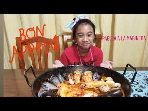 Cocinando con Hilary Zen   Paella a la marinera