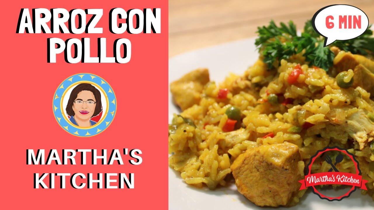 Como Hacer Arroz con Pollo Colombiano   Martha's Kitchen