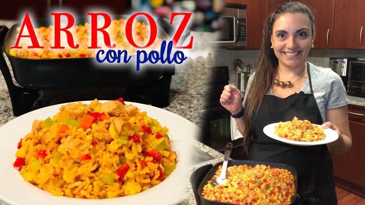 MEJOR RECETA DE ARROZ CON POLLO!   Cocinando con Mari