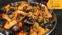 PAELLA DELICIOSA | Cocina Mamita