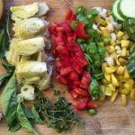 Paella Vegetariana - Volver a la Receta Eden Garden