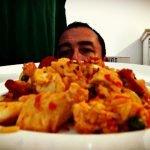 Picante y picante | 6 paella de marisco con chile