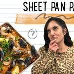 Pro Recipe Developer intenta hacer paella fácil para la cena | Receta de paella de sartén