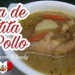 RECETA: SOPA DE PATITAS DE POLLO (PURO COLAGENO NATURAL!)