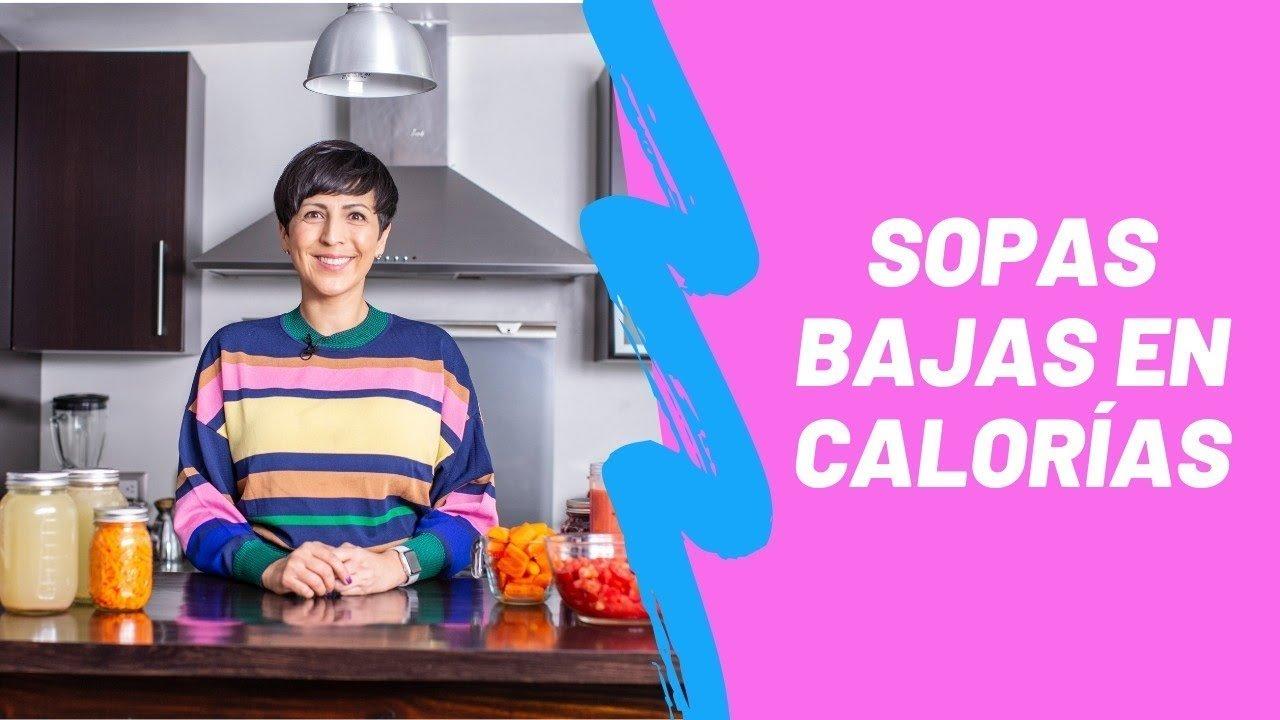 Recetas de sopas bajas en calorías