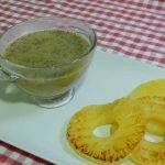 Salsa de piña ideal para carnes, Receta muy fácil y rápida